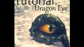 getlinkyoutube.com-Polymer Clay Tutorial:Dragon eye