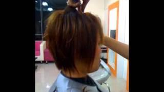 getlinkyoutube.com-สอนตัดผม By Alisa Hair