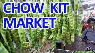 Chow Kit Market in Kuala Lumpur, Malaysa