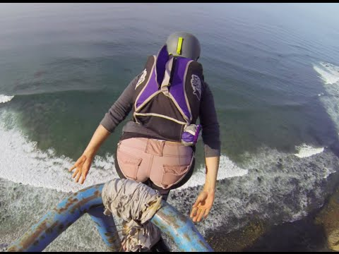 BASE jumping: Mexico 4th of July