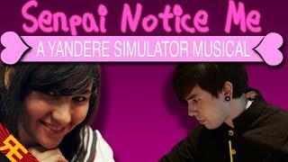 getlinkyoutube.com-Senpai Notice Me: A Yandere Simulator Musical (feat. SparrowRayne & Nathan Sharp)