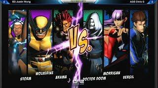 getlinkyoutube.com-Justin Wong vs Chris G - Capcom Cup UMVC3 Winners Bracket