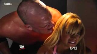 getlinkyoutube.com-WWE Raw 15/12/2008 Kelly Kelly & Kane Backstage