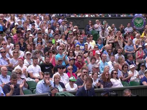 2016, Day 2 Highlights, Andy Murray vs Liam Broady