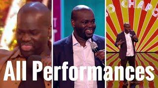 Daliso Chaponda All Performances - Britain Got Talent 2017 3rd Place Winner