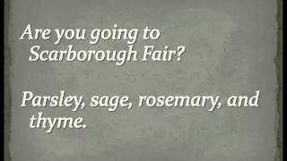 Simon & Garfunkel - Scarborough Fair (Full Version) Lyrics