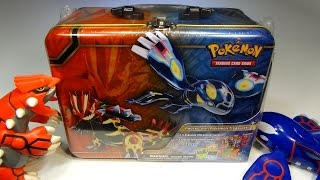 getlinkyoutube.com-Opening: Pokemon Treasure Chest! ORAS-themed lunchbox tin FULL of goodies!