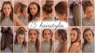 getlinkyoutube.com-15 heatless hairstyles || Lilyellaburt ♡