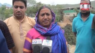 गाँव वालों का आरोप एक स्कूल के निजी फायदे के लिए PWD कर रहा है पुल निर्माण