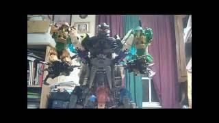 getlinkyoutube.com-Lego Bionicle Combiner Moc