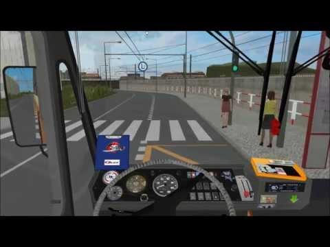 OMSI - Simulador de ônibus - Ústi nad labem