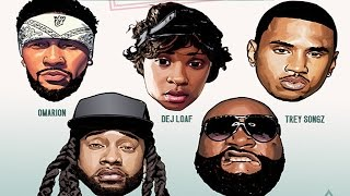 getlinkyoutube.com-Omarion - Post To Be (Remix) ft. Dej Loaf, Trey Songz, Ty Dolla $ign & Rick Ross