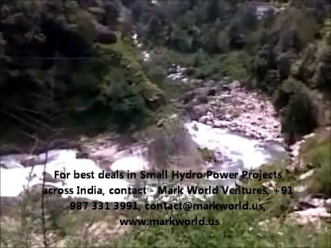 Visit to Small Hydro Power plant in INDIA