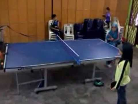 SRAB JB 2013 Januari Training Ping Pong