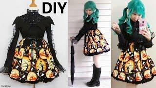getlinkyoutube.com-DIY Bat Halloween Costume 2016