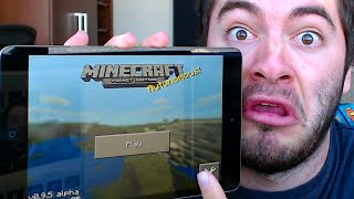 getlinkyoutube.com-Minecraft Pocket Edition: HOUSE SPEED BUILD CHALLENGE! (MCPE 0.9.0)