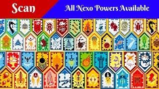 getlinkyoutube.com-All Lego Nexo Powers / Nexo Shield - Scan and Enjoy
