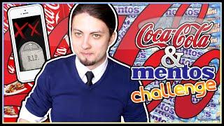 getlinkyoutube.com-COLA AND MENTOS CHALLENGE!! | Miszczelendż #7 (RIP IPHONE 5s) [*]