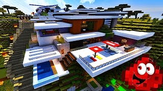 getlinkyoutube.com-UNE INCROYABLE MAISON MODERNE AUTOMATISÉE ! | Mountain Piston House !