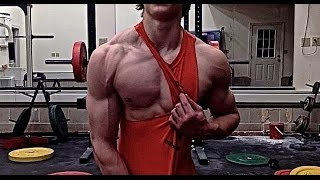 getlinkyoutube.com-David Laid Chest Workout aka Push Day