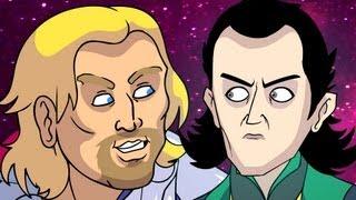 getlinkyoutube.com-Thor n, Loki (Marvel Parody) - Oney Cartoons