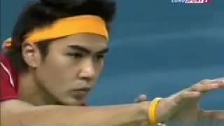getlinkyoutube.com-Sepaktakraw Doha Final match Thailand - Malaysia Takraw