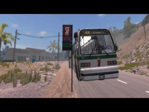Simulador de Ônibus Urbano: Bus & Cable Car Simulator -- San Francisco Line 905 Cross Town