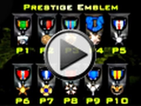 Modern Warfare 3 Prestige Emblems / Badges (COD MW3)