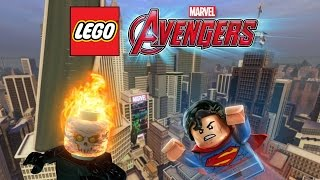 getlinkyoutube.com-Creating Ghost Rider & Superman! | LEGO Marvel's Avengers Customs
