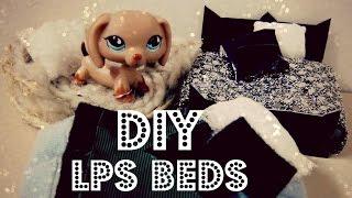 getlinkyoutube.com-DIY 3 Lps Beds (Plush bed, Dog Bed, Traditional Bed)
