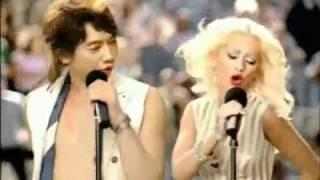 getlinkyoutube.com-Bi Rain & Christina Aguilera Pepsi Comercial