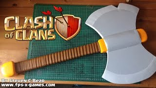 getlinkyoutube.com-How to Create a Clash of Clans Valkyrie Axe
