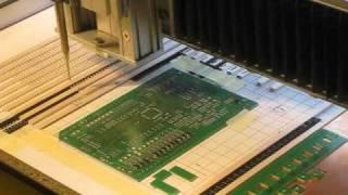 getlinkyoutube.com-DIY SMT IMPROVISED PICK AND PLACE MACHINE (TEST) - EMC LINUX