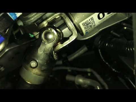 Где в Honda Civic 4D находится подшипник рулевого вала
