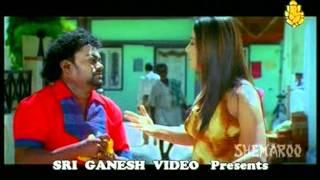 getlinkyoutube.com-Sandhu Eats Halwa - Rakshita - Sadhu Kokila - Kannada Top Scenes