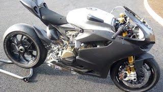 getlinkyoutube.com-Ducati 1199S 300 km/h Speed Ghost
