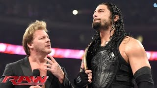 getlinkyoutube.com-Roman Reigns wants payback against Brock Lesnar: Raw, January 18, 2016