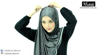 getlinkyoutube.com-Tutorial Shawl Denim Empress - Habibi by Alkenali