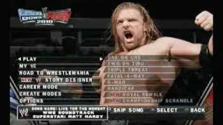 getlinkyoutube.com-WWE Smackdown vs RAW 2010 -  Menu Walkthru