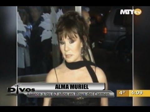 Divos - Fallece Alma Muriel