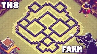 getlinkyoutube.com-Clash of Clans | Town Hall 8 (TH8) Unbeatable Farming Base V2.0 - [Air Sweeper]