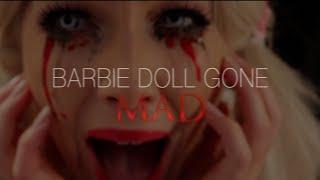 getlinkyoutube.com-Barbie gone mad I Easy Halloween makeup tutorial 2014
