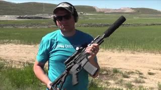 getlinkyoutube.com-Suppressed 300 Black Out SBR Short Barreled Rifle