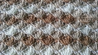 getlinkyoutube.com-Tutorial Punto Concha Crochet o Ganchillo Shell Stitch