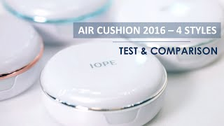 getlinkyoutube.com-IOPE PHẤN NƯỚC AIR CUSHION 2016 - 4 DÒNG MỚI TEST VÀ SO SÁNH