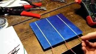 getlinkyoutube.com-DIY 15$ 40w Solar Panel