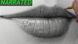 getlinkyoutube.com-How to Draw the Mouth & Lips [Narrated Step by Step]
