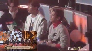 getlinkyoutube.com-SHINee reaction to BTS Perfect Man Perf