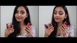 getlinkyoutube.com-14 Miss Claire Lip Cream Swatches + Nyx Cannes Dupe!