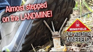 getlinkyoutube.com-Warning Minefield! Almost stepped on a landmine on the last hunt!